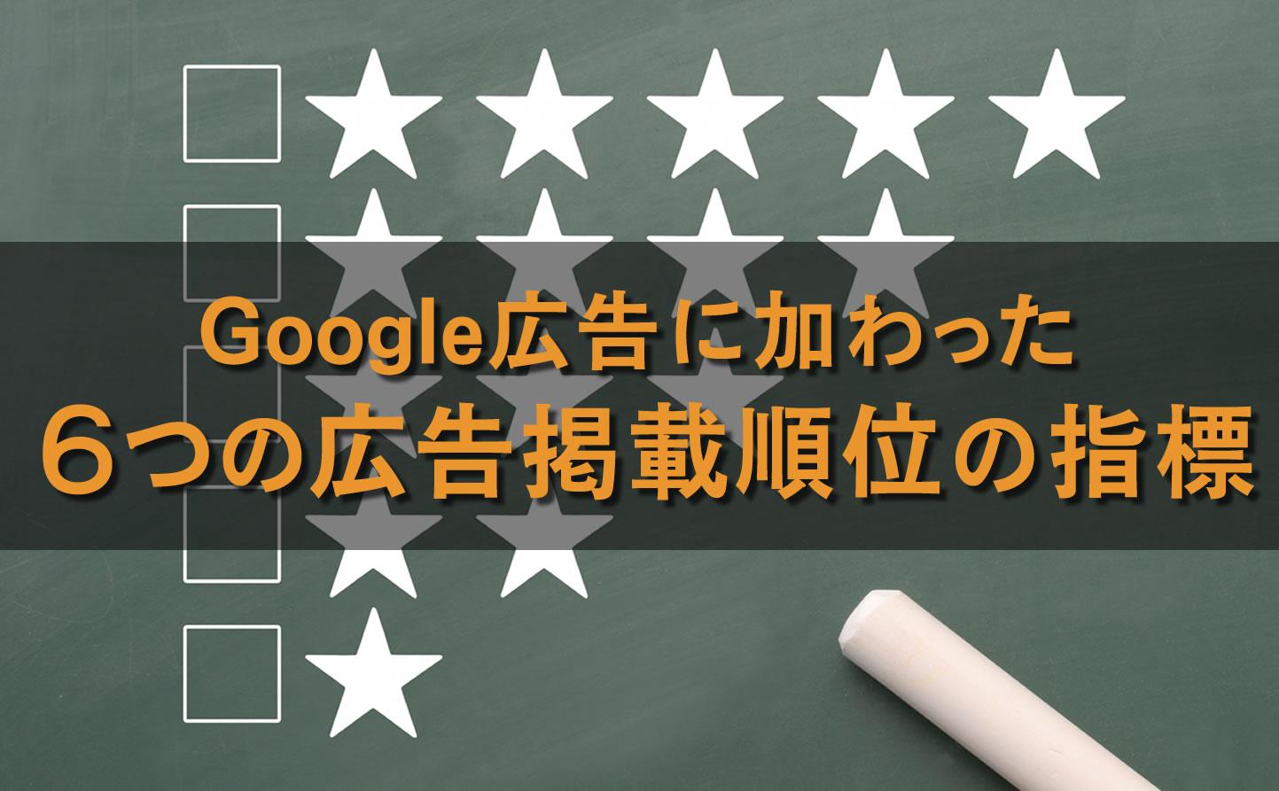 Google広告に新しく加わった6つの広告掲載順位の指標|上部・最上部のインプレッションシェア