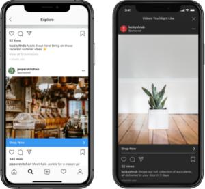 Instagram、発見タブにおける広告の提供開始を発表