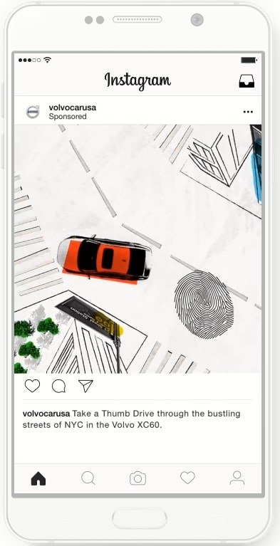 instagram広告の海外事例_フィード動画広告
