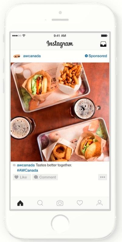 Instagram広告の海外成功事例_フィード広告を使ったブランドイメージ向上の事例