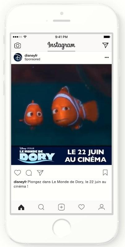 Instagram広告の海外成功事例_動画、カルーセル広告を活用した視聴意向拡大事例