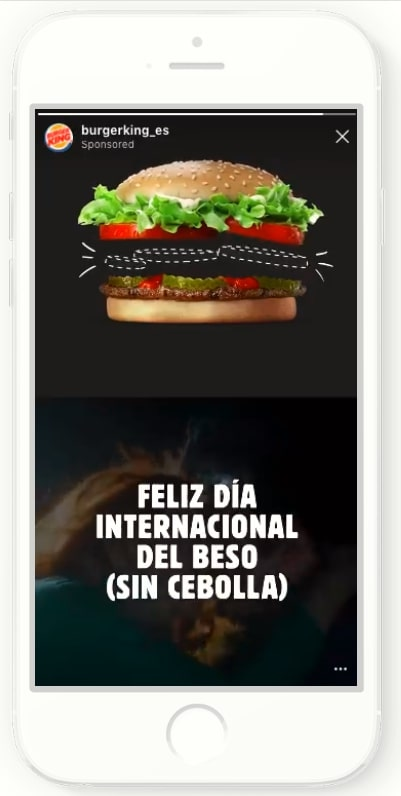 Instagram広告の海外成功事例_ストーリーズ、カルーセル広告によるキャンペーン告知