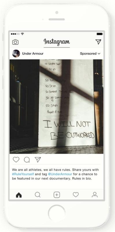 Instagram広告の海外事例_キャンペーンに合わせた写真広告でブランド理解促進