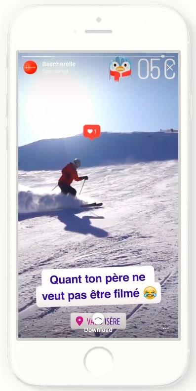 Instagramの広告成功事例_アプリインストール数拡大事例