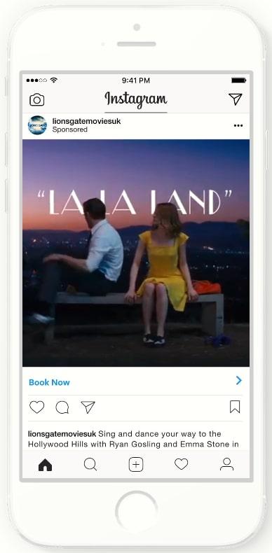 Instagram広告のサービス業事例_動画広告キャンペーン