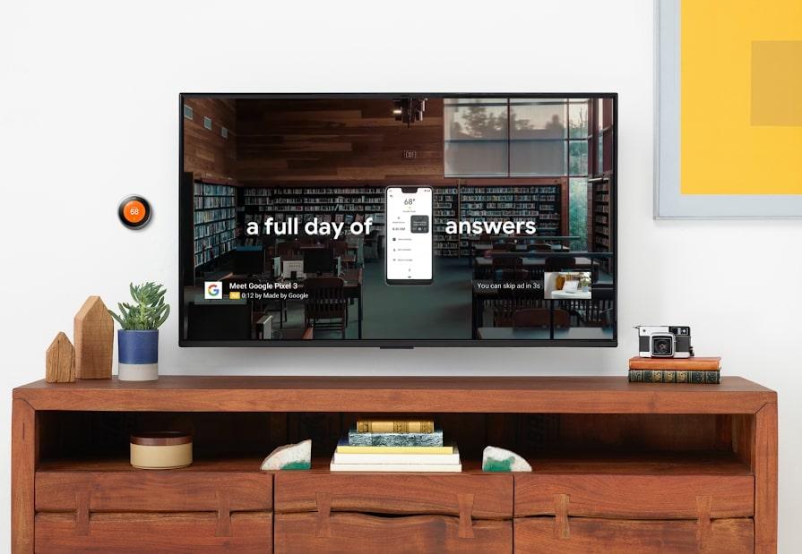 画像:Google 動画広告の配信面にテレビ画面端末が追加された。よりユーザーの動画視聴行動ニーズにマッチした配信が可能になる。