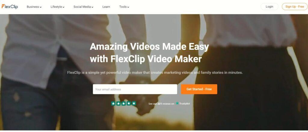 FlexClip-動画制作