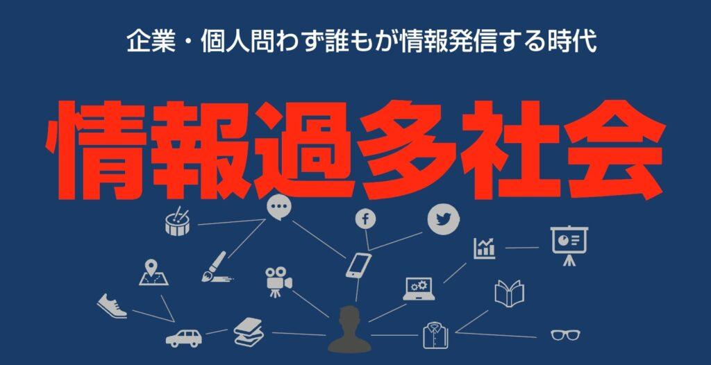 情報過多社会で消費者が欲しい情報と企業が届けたい情報にミスマッチがある