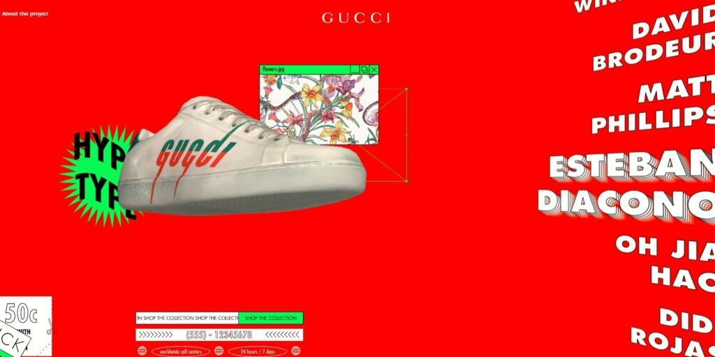 Webデザイントレンド73Dデザイン