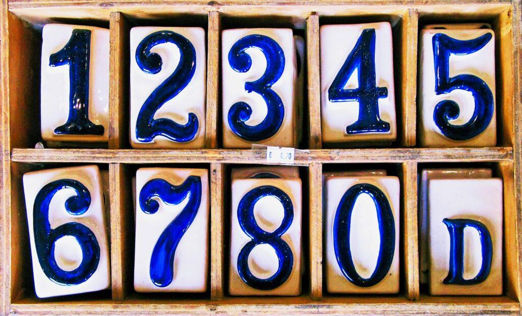 具体的な数字を明記する