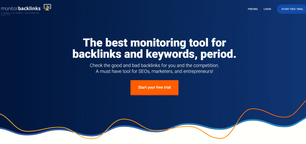SEO対策ツール:Monitorbacklinks