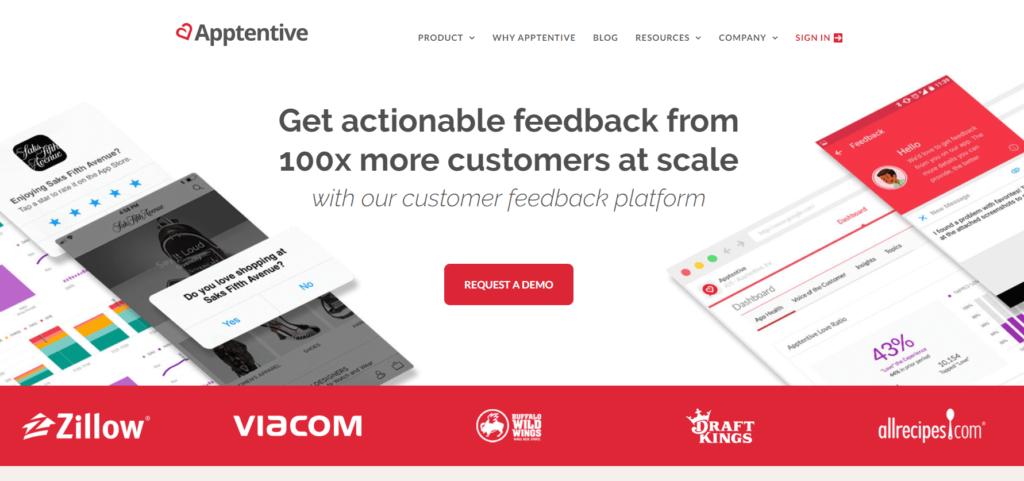 SEO対策ツール:Apptentive