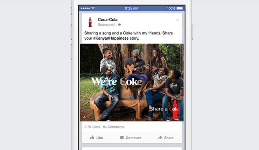 facebook広告のフォーマット:画像広告