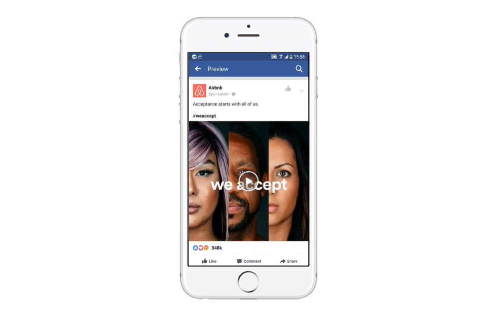 facebook広告のフォーマット:動画広告