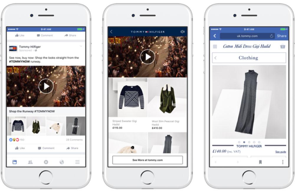 facebook広告のフォーマット::コレクション広告