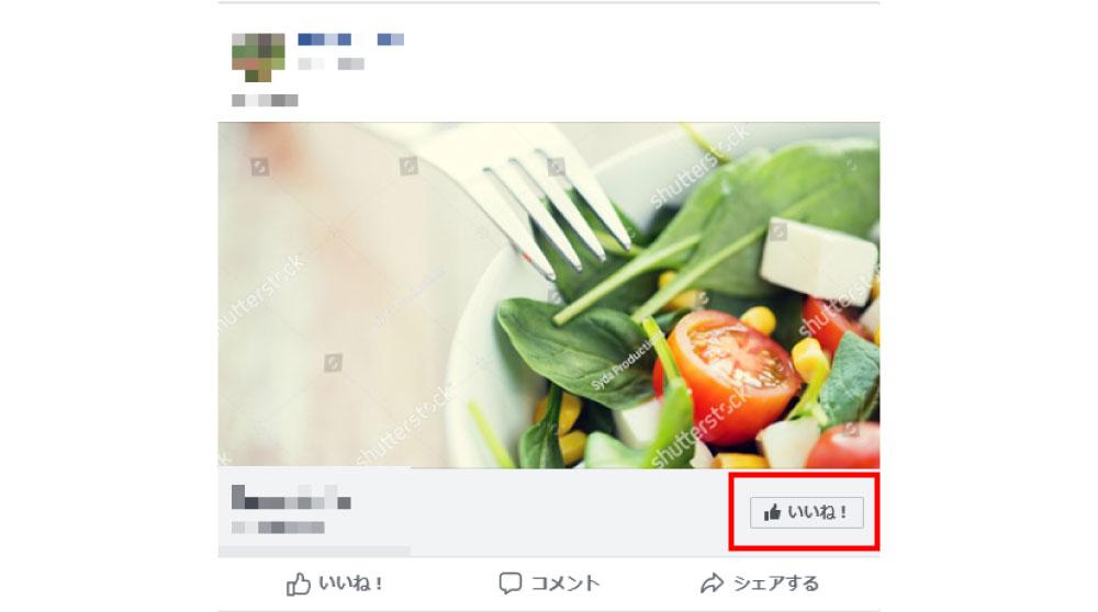 facebook広告のフォーマット:ページへのいいね!広告