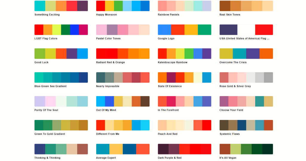 配色の基本