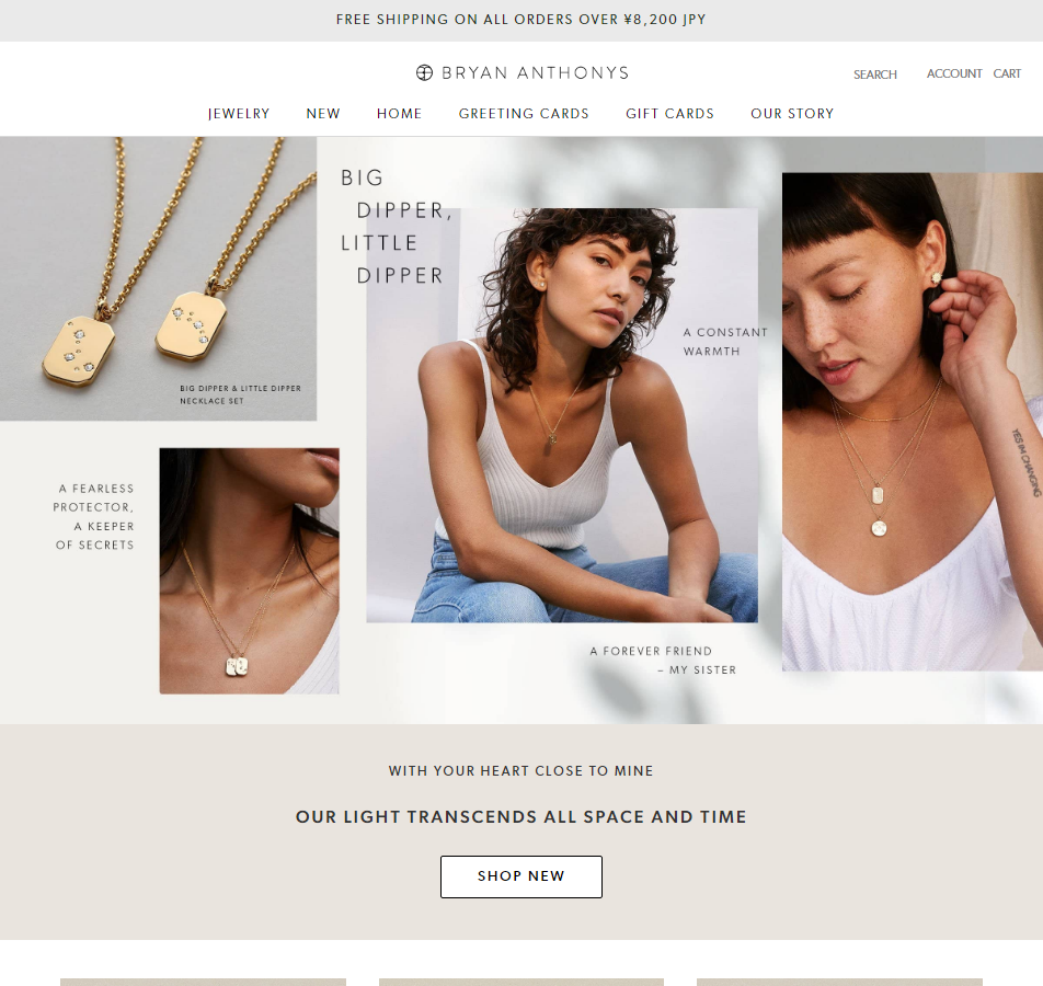 Bryan Anthonys - Dainty Necklaces, Bracelets, Rings and Earrings